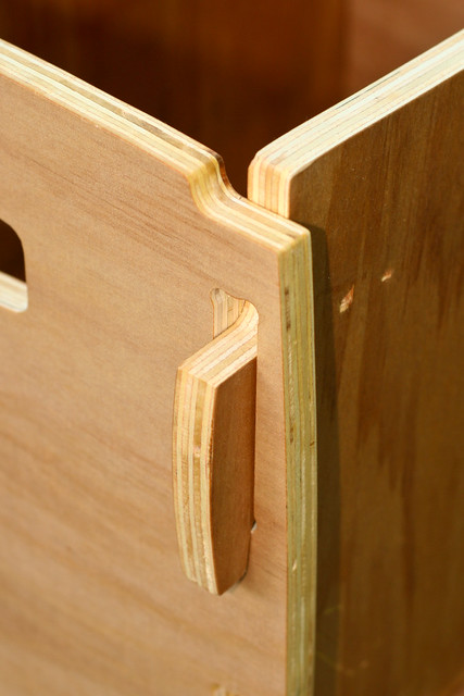 Plywood Cnc Box Joint Detail Made From Discount Agathis
