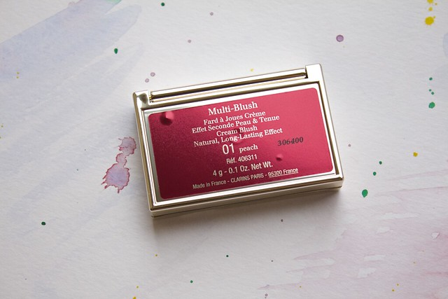 08 Clarins Opalescence Spring 2014 Makeup Collection   Cream Blush #01 Peach