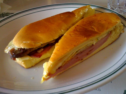 Why hello, Cuban Sandwich at Versailles