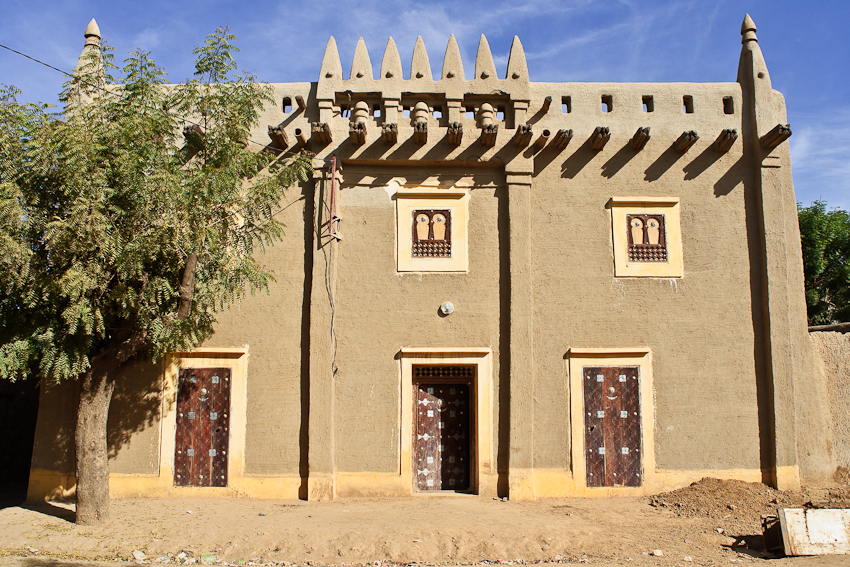 Traditionelles Haus in Djenné
