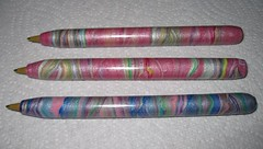 Pearl Polymer Clay Pens