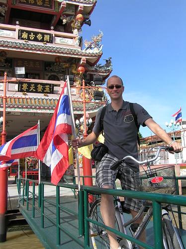 Bangkok, cycling tour, temple