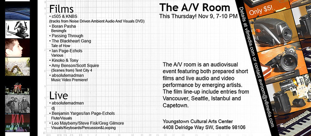 The A/V Room Poster