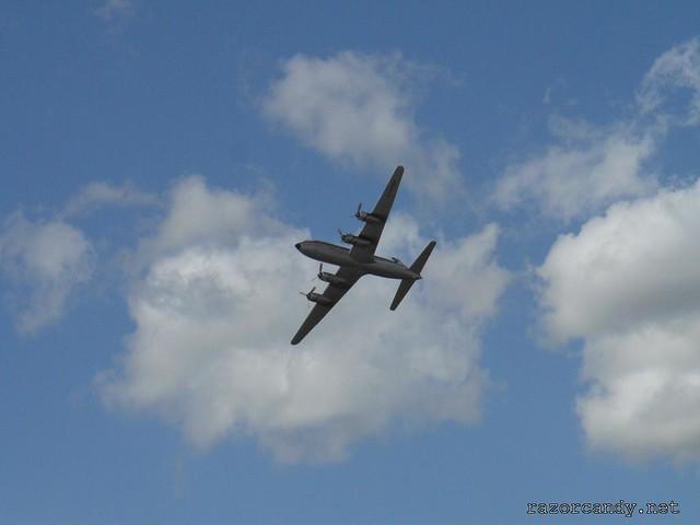 19 P1080613 British Eagle Douglas DC-6 {G-APSA} _ City Airport - 2008 (5th July)