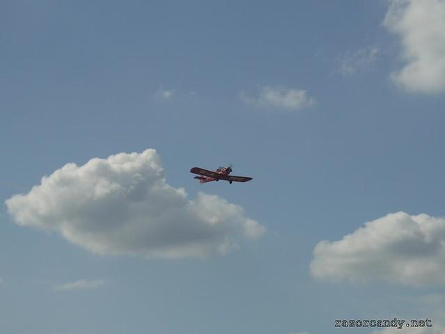 21 P1130860 Druine D.31 Turbulent {G-APVZ}  _ City Airport - 2009 (4th July)