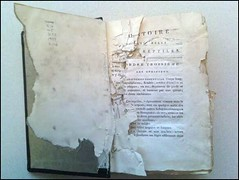 damaged book