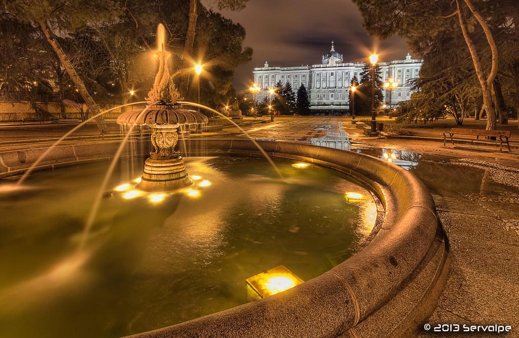 The Fountain Of Golden Dreams #1 :: HDR :: DRI