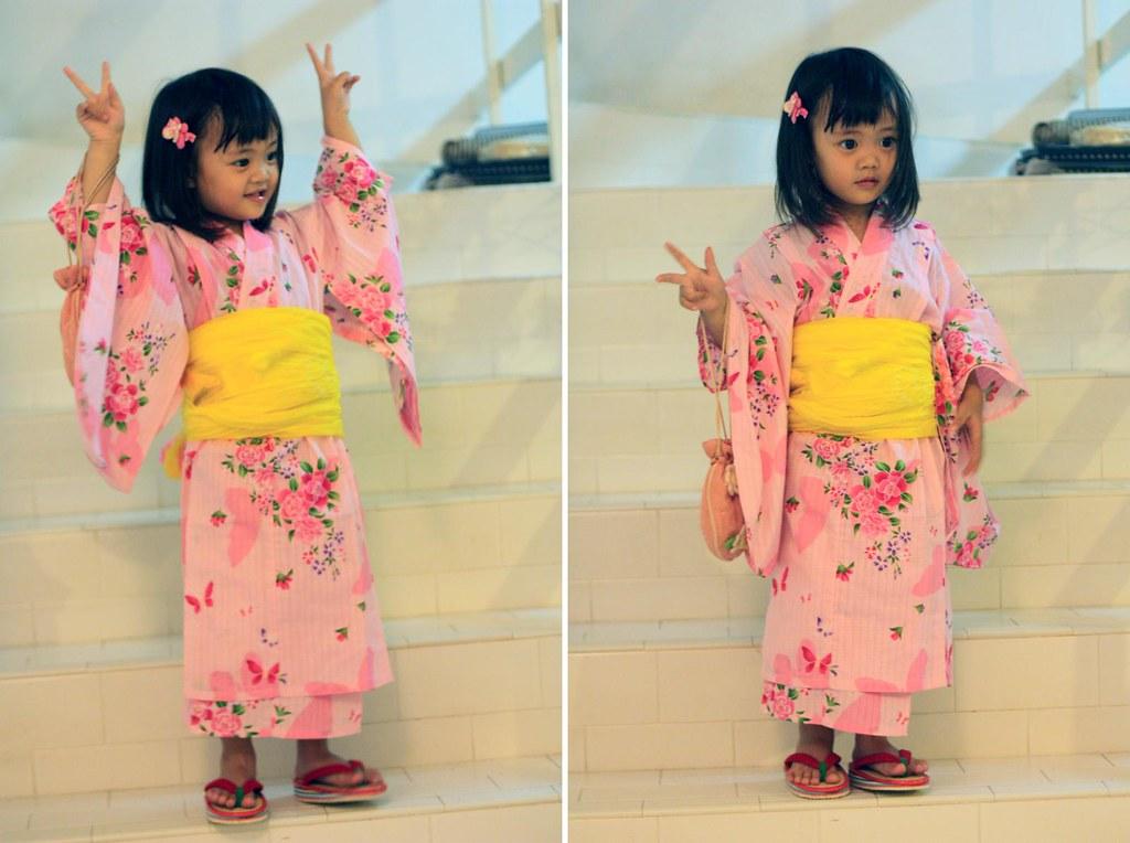aina in kimono