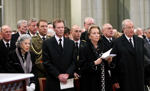 Funeral Prince Alexander of Belgium