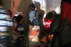 Las hilanderas. La Casa de Tomasa con Urban knitting
