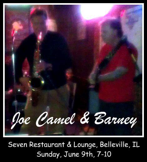 Joe Camel & Barney 6-9-13