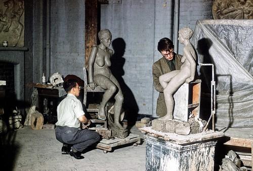 Manchester Art School Students, c. 1962