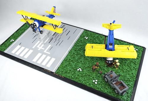 Stearman PT-17 Kaydet Diorama, Overview