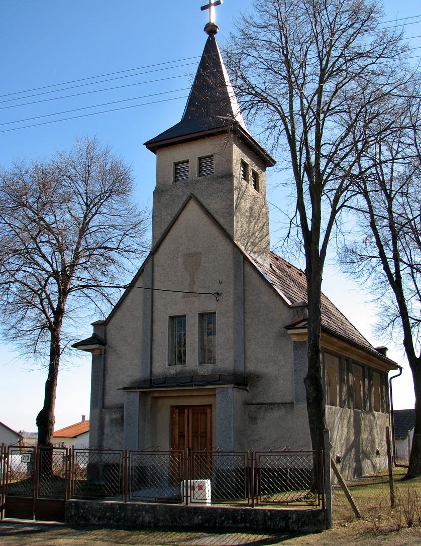 Evanjelický kostol vo Veľkej Čalomiji