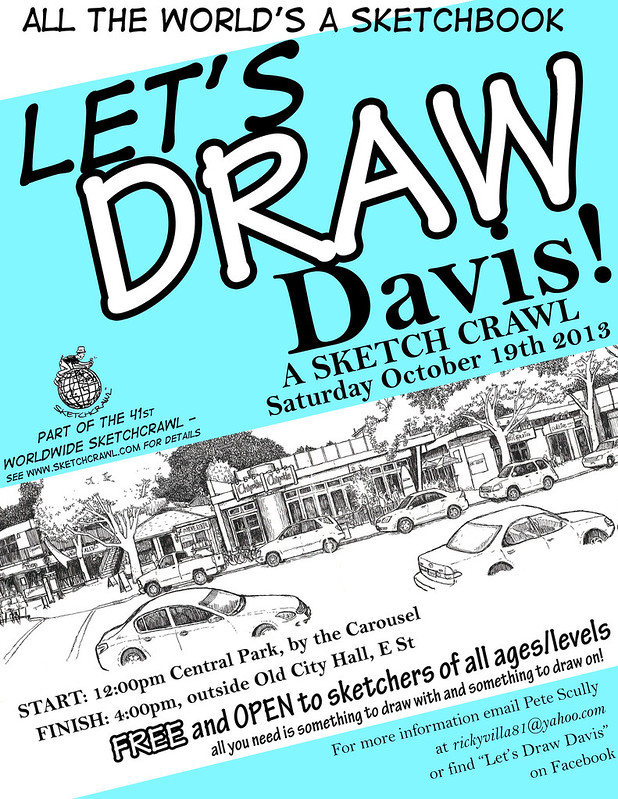 let's draw davis october 2013