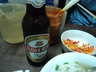 Beer at Pho Gia Truyen