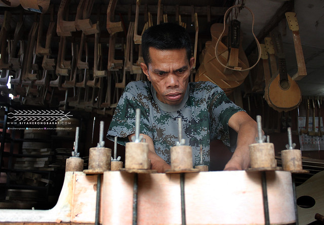 Craftsman at Alegre Guitar Lapu-Lapu City Cebu