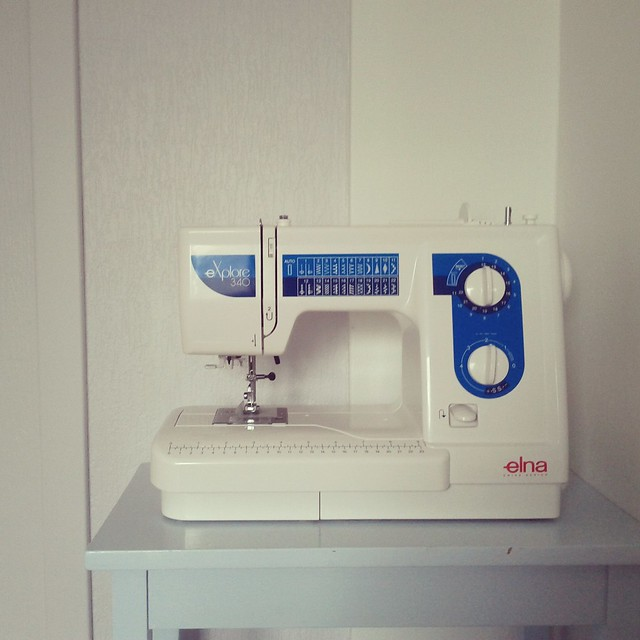 My new sewing machine.
