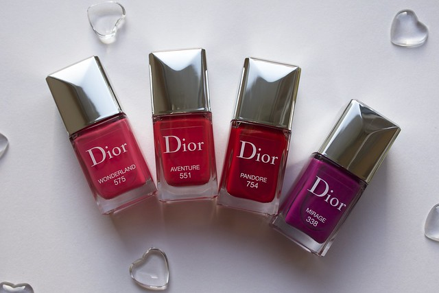 01 Dior Vernis Couture Effet Gel Collection for Spring 2014 Wonderland, Aventure, Pandore, Mirage