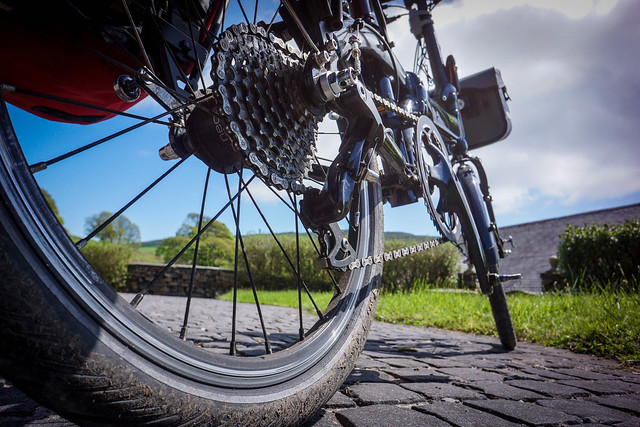 Tern Link P24h: 24-speed gearing system