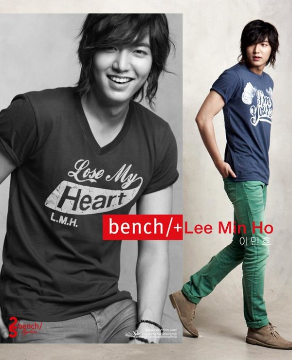 Lee Min Ho for Bench