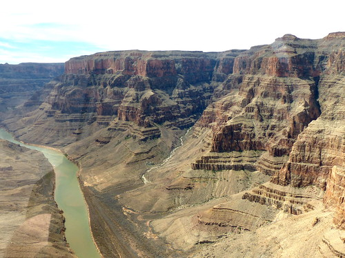 The Grand Canyon, Colorado River below