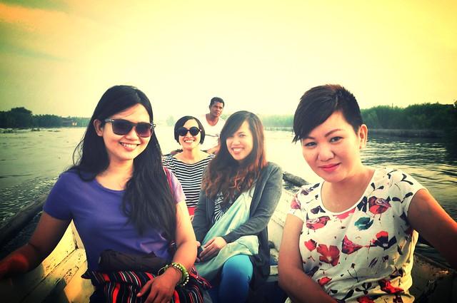 Boat Ride to Pamarawan Island, Malolos, Bulacan
