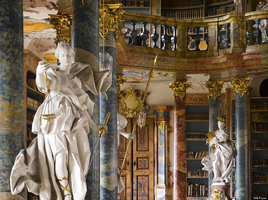 Wiblingen Abbey's library, Germany