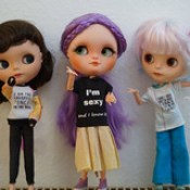 Blythe a Day 24 February 2017 - Shirts with Words