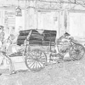 India - Uttar Pradesh - Mathura - Streetlife - 13c.