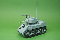 M5A1 Stuart Light Tank (1)