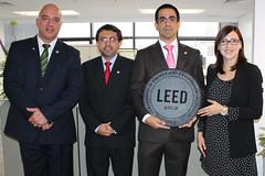Certificación LEED GOLD de las oficinas Jhonson Controls en Lima