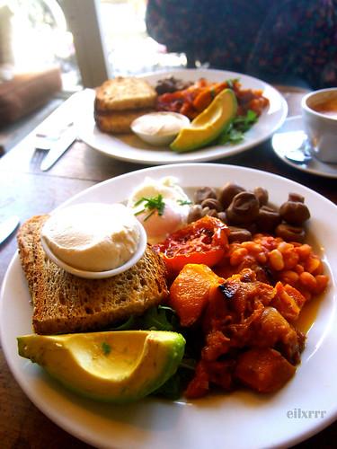 Kawa Cafe Vegan Breakfast