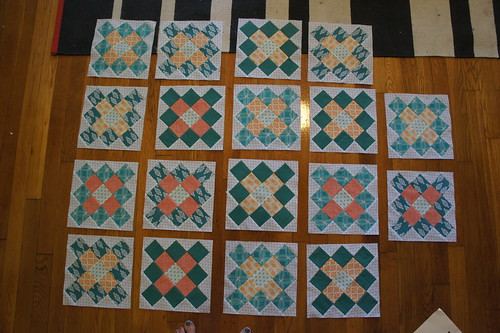 Granny Square blocks