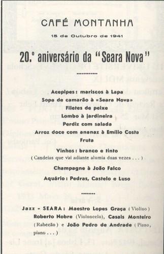 """20.º Aniversário da """"Seara Nova"""" by lusografias"""