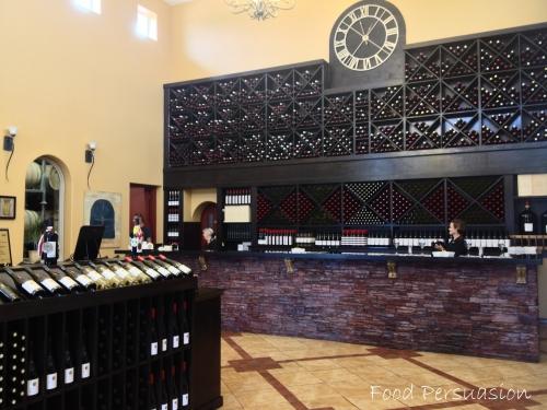 cassini wine tasting room