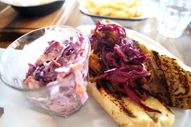 pulled pork sandwich-The New Club Brighton