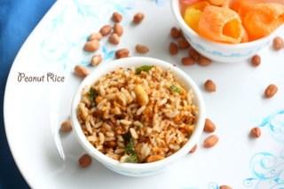 Peanut -rice