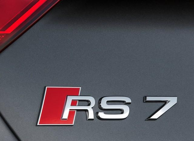 2014 Audi RS7 Sportsback Badge