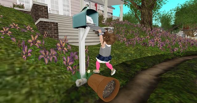 Checking the mail fail