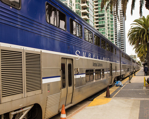 Amtrak - Surfliner 2 by Christopher OKeefe