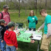 Earth Day Program Includes Environmental Education Students and Nearly 70 Visitors