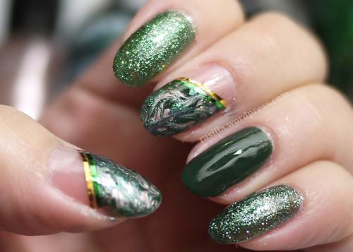 Holiday Nails Day 4
