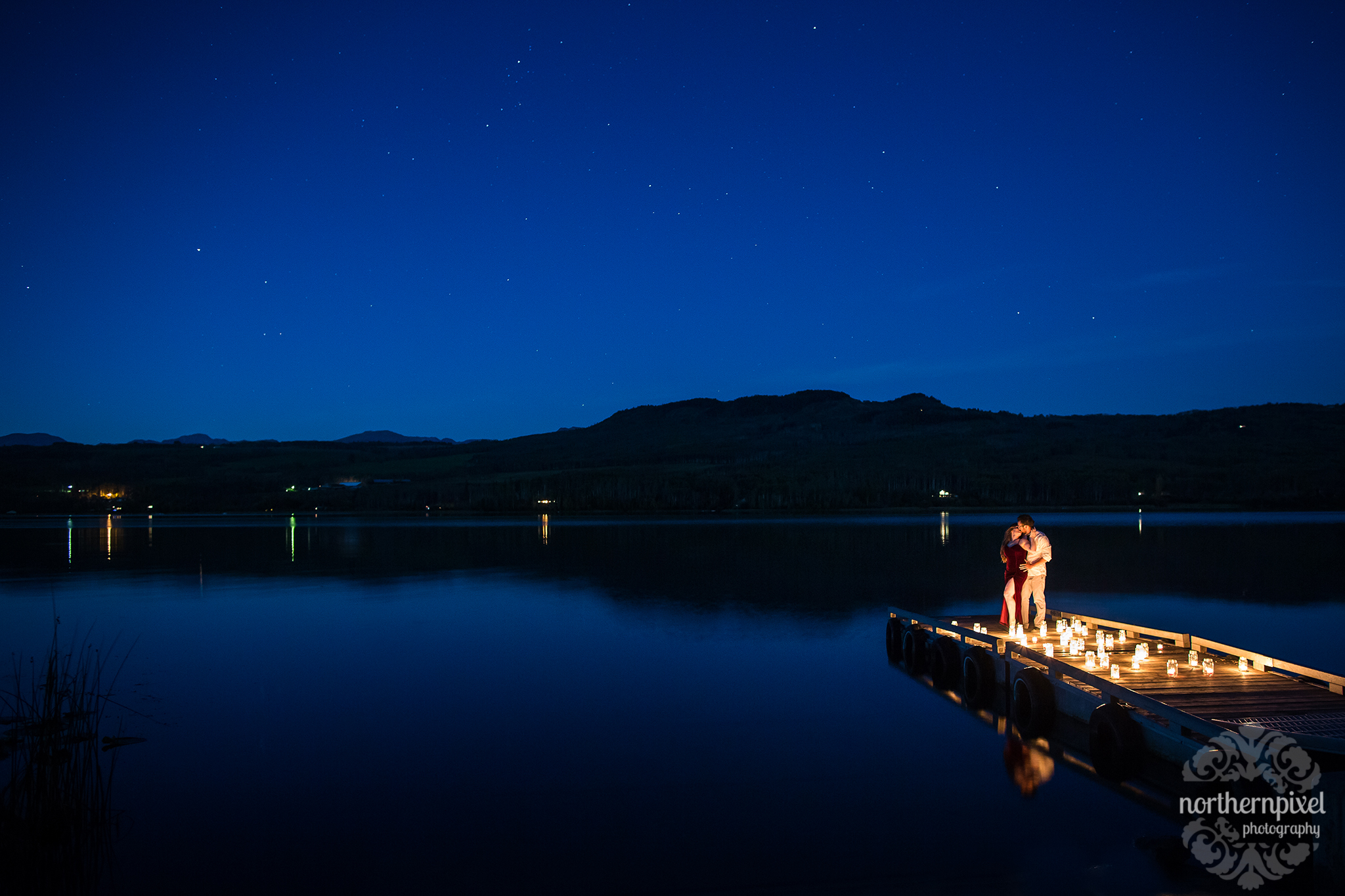 Night Photography at Tyhee Lake Smithers BC