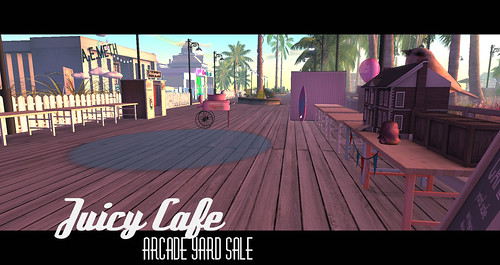 Juicy Cafe Arcade Yard Sale
