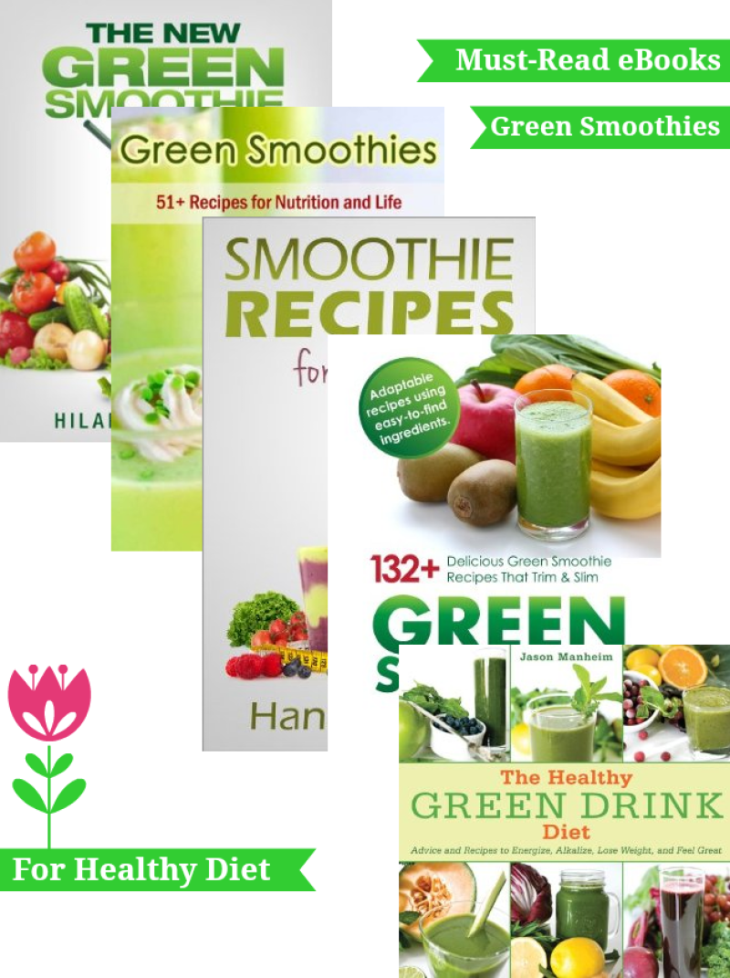 5 Top-reviewed green smoothie ebooks that you should be reading now
