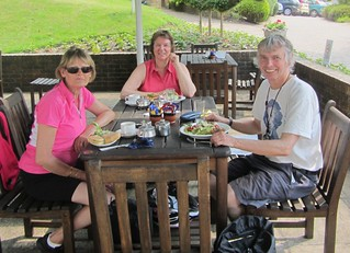 Lunch at the garden centre