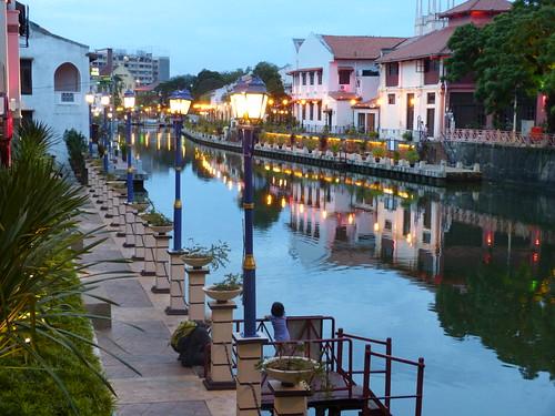 River walk Melaka