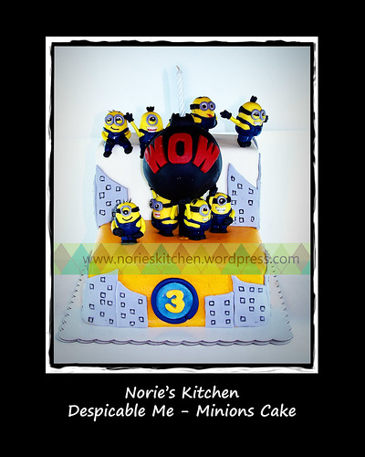 Norie's Kitchen - Despicable Me - Minions Cake by Norie's Kitchen