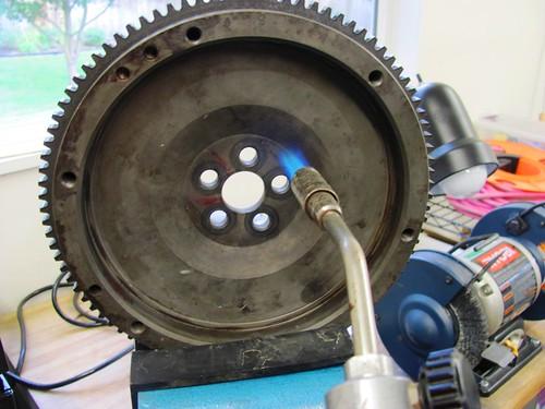 Heating Flywheel Bolt Circle